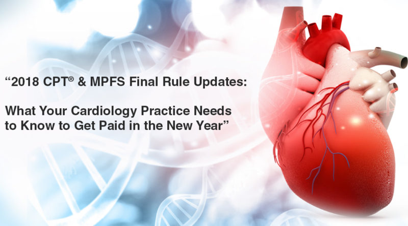 2018 cpt cardiology updates