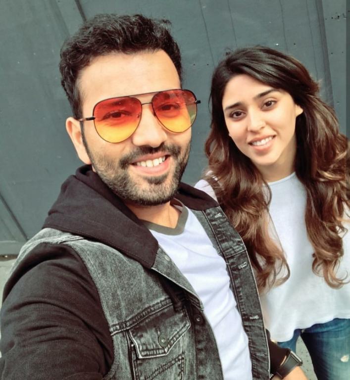 Rohit Sharma with Ritika