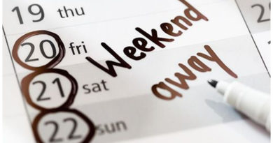 list of long weekends 2018