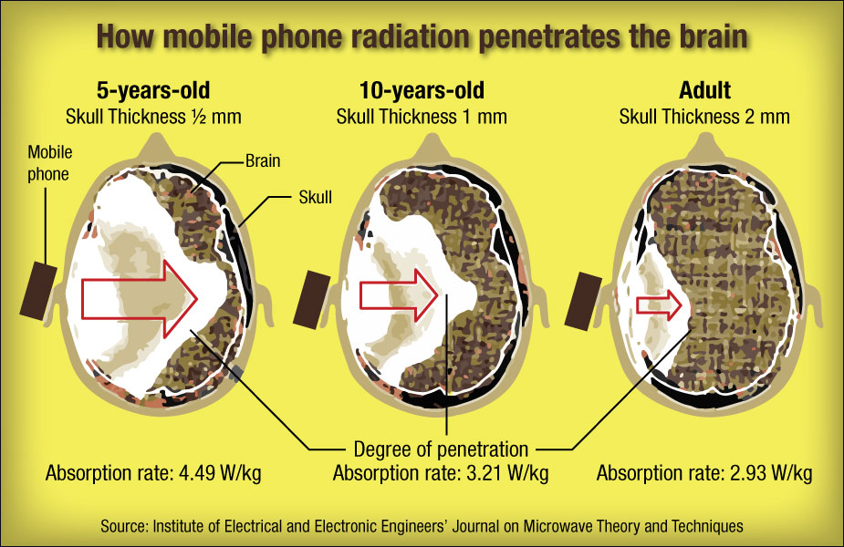 mobile phone radiation issues