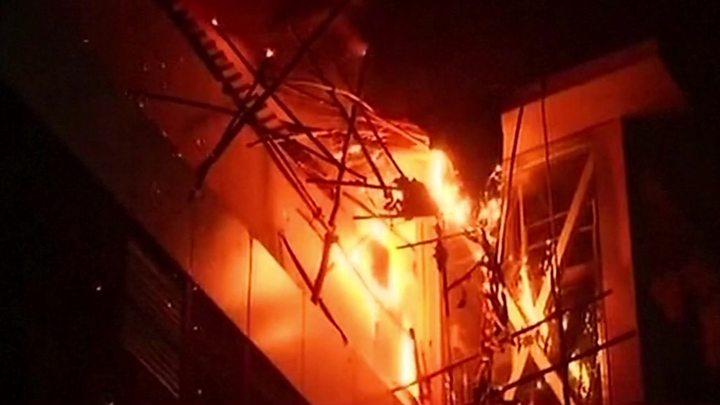 mumbai kamala mills complex fire