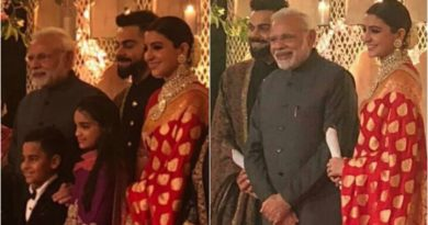 wedding pics from Virushka WEdding reception