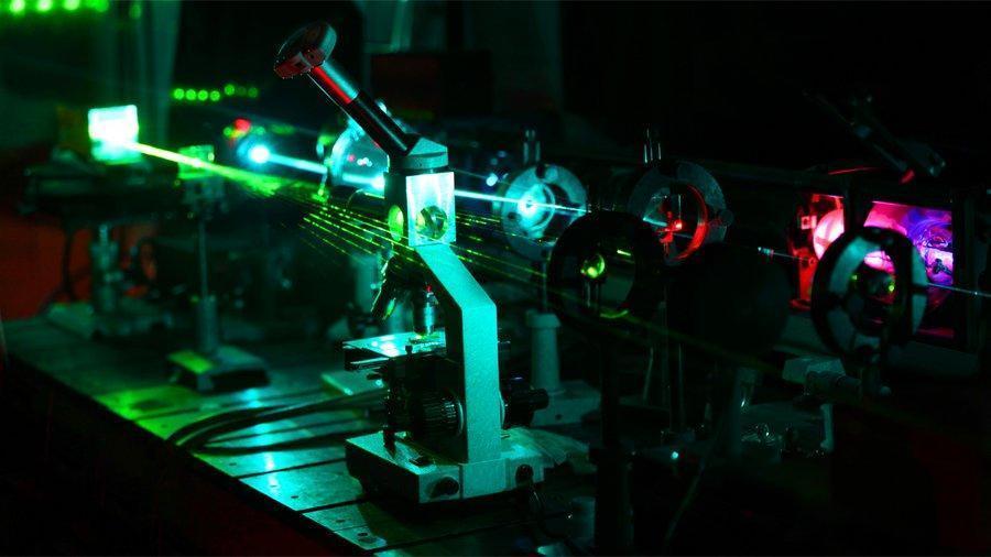 China Laser 100 PetaWatt