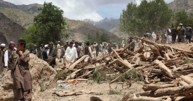 Earthquake today afghanistan