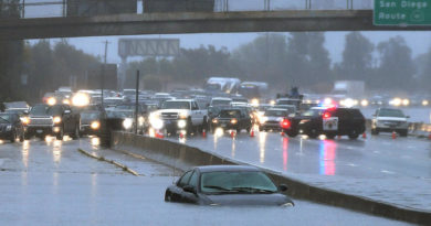 Heavy rains in Southern California