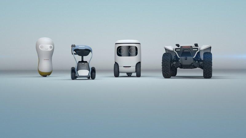 Honda 3E Robotics Concept CES 2018