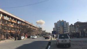 Suicide Bombing Kabul