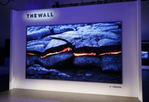The Wall TV Samsung CES