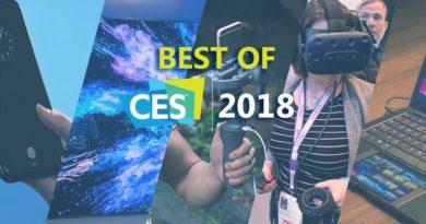 Top 5 gadgets CES 2018
