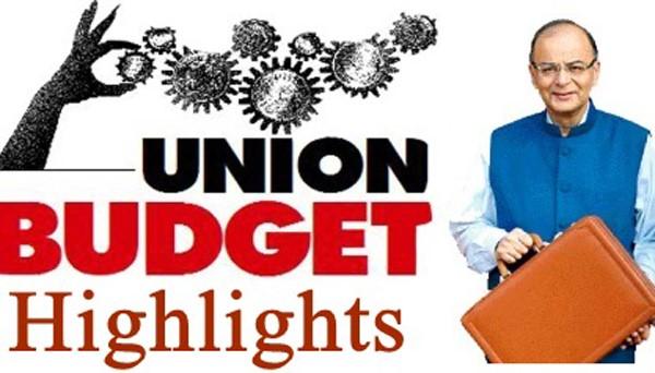 Union Budget highlights 2018