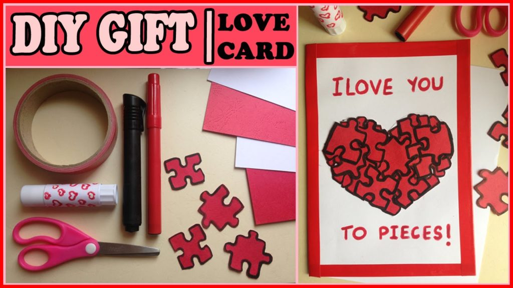 DIY Gifts for him and her valentine day