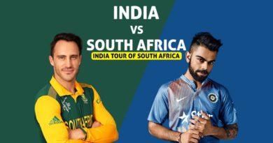 Ind vs SA First ODI Match 2018