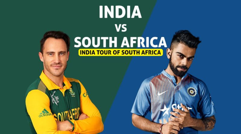 Ind vs SA First ODI Match 2018