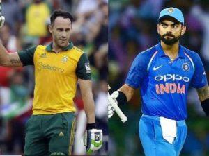 Ind vs SA ODI Team 2018