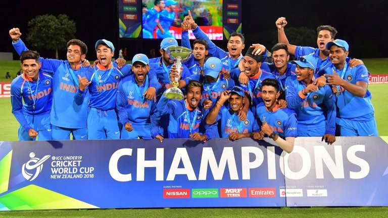 India win U19 World Cup 2018