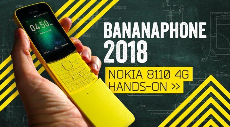 Nokia 8110 4G Banana Phone