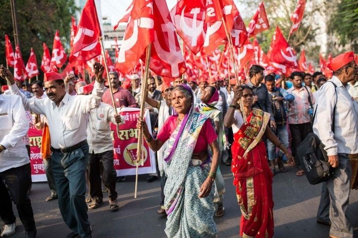 Farmers March to avoid troubling students