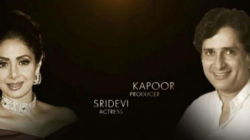 Sridevi Shashi kapoor Oscars 2018
