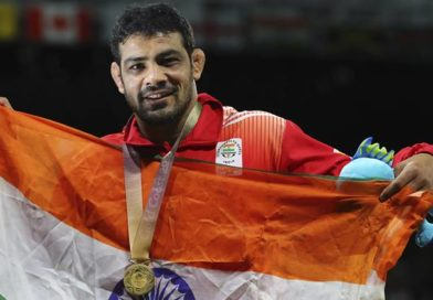 India's pride wrestler Sushil Kumar stepped into the finals for CWG 2018 in the category of 74kg