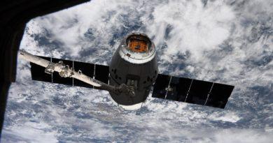 Dragon Cargo Capsule Space