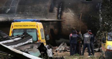 Military Plane Crash Algeria