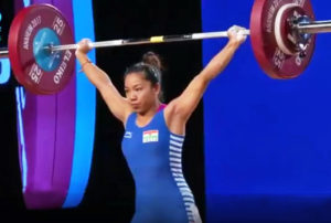 Saikhom Mirabai Chanu wins gold CWG