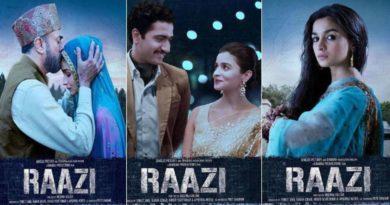 Alia Bhatt Raazi Movie