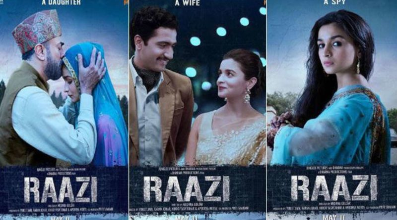 Alia Bhatt Raazi Movie