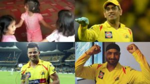 Dhoni Raina Bhajji Daughters