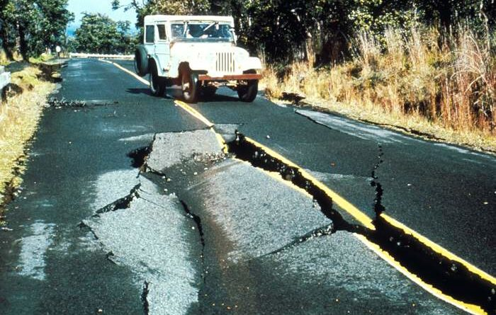 Hawaii Volcanoes Earthquake