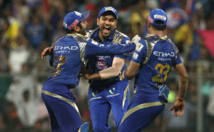Entertainment by Mumbai Indians