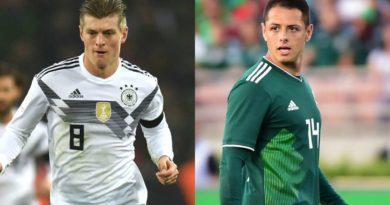 Germany vs Mexico FIFA 2018