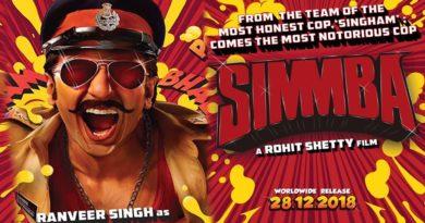 Simmba Movie Poster
