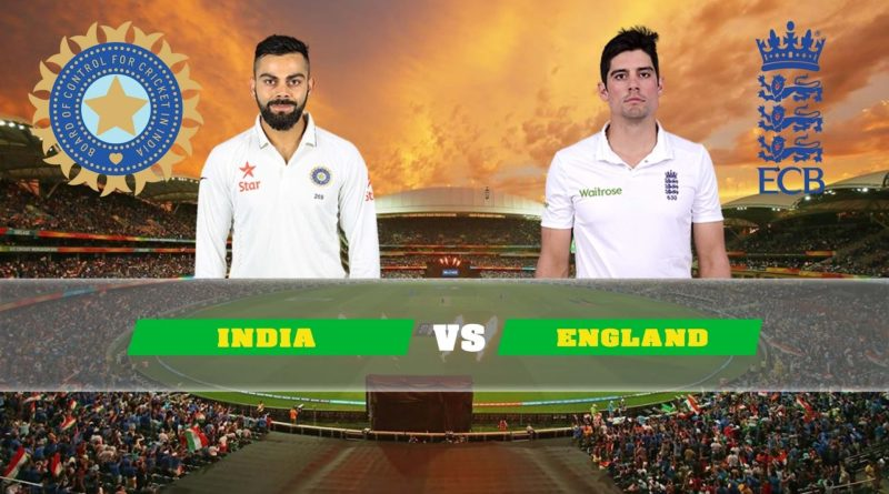 India vs England 5th Test Match