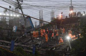 Kolkata Bridge Collapse Pictures