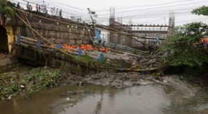 Kolkata Bridge Collapse Rescue