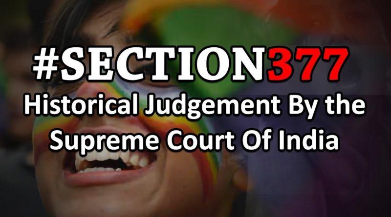 Section 377 Verdict