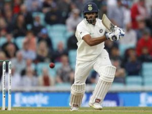 hanuma Vihari Debut Test Match