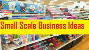 small scale business idea