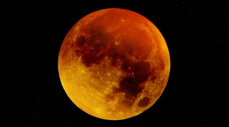 Super Blood Moon 2019