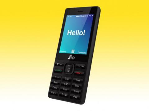 Jio Phone Camera Fingerprint Lock